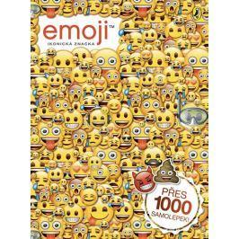 kolektiv autorů: Emoji oficiální kniha samolepek