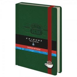 Zápisník Friends - Central Perk (velikost A5)