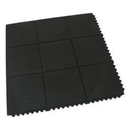 FLOMAT Gumová protiúnavová modulární rohož Solid Top Tile - 91 x 91 x 1,4 cm