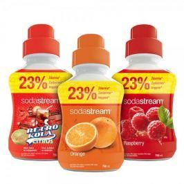 Sodastream Sada Orange/Malina/Retro 750 ml