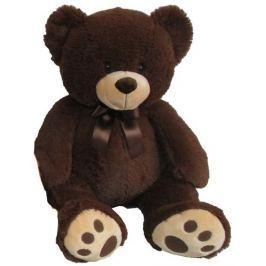 Mac Toys Plyšový medvídek tmavě hnědý, 60 cm