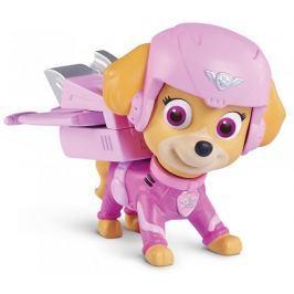 Spin Master Paw Patrol Figurka s leteckými doplňky Skye růžová