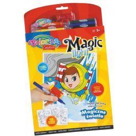 Omalovánky Colorino Magic light - 12 motivů