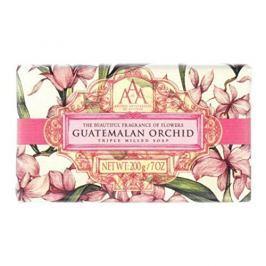 Somerset Toiletry Luxusní mýdlo v ozdobném papíru Guatemalská orchidej (Guatemalan Orchid Triple Milled Soap) 200 g