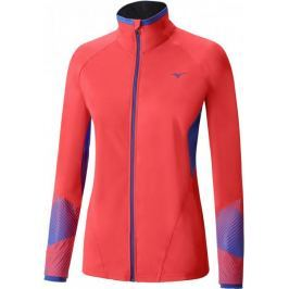 Mizuno Breath Thermo Softshell Jacket Fiery Coral/Dazzling Blue M