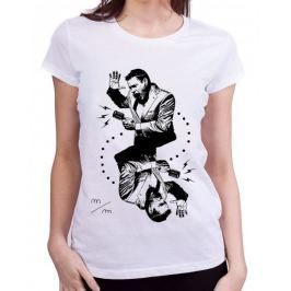 KlokArt dámské tričko Stanley & Stella Likes bílá S