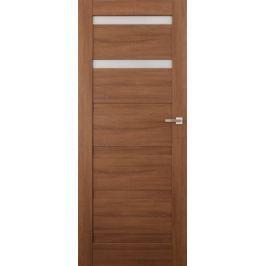 VASCO DOORS Interiérové dveře EVORA kombinované, model 2, Kaštan, B