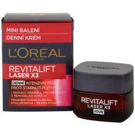 L'Oréal Denní intenzivní krém proti stárnutí pleti Revitalift Laser X3 - minibalení 15 ml