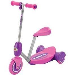 Razor Lil ES Electric Scooter Seated - růžová