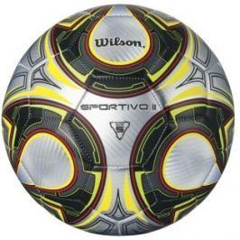 Wilson Sportivo II Sb Silver/Black/Yellow Size 5