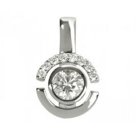 Silver Cat Stříbrný přívěsek s krystaly SC080 stříbro 925/1000