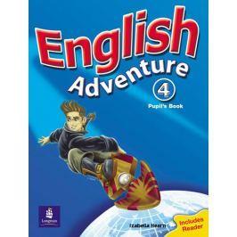 Hearn Izabella: English Adventure Level 4 Pupils Book plus Reader