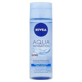 Nivea Osvěžující čisticí pleťový gel Aqua Sensation (Invigorating Cleansing Gel) 200 ml