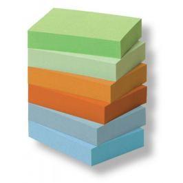 Blok samolepicí Post-it 51 x 38 mm/6 ks rainbow, recykl