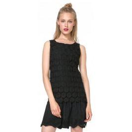 Desigual dámské šaty Barcelona 40 černá