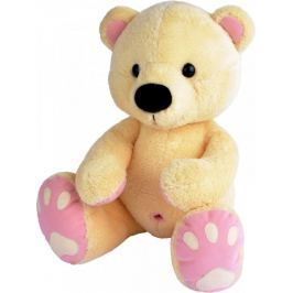 MÚ Brno Medvěd Pupík 60cm, béžovo-růžový