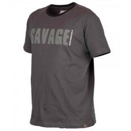 Savage Gear Triko Simply Savage Tee Grey M