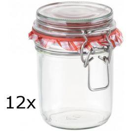 Tescoma Zavařovací sklenice s klipem DELLA CASA 350 ml, 12 ks