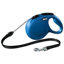 Flexi vodítko New Classic M lanko 8m/20kg modré