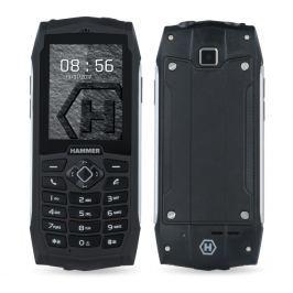 myPhone HAMMER 3+, DualSIM, stříbrný