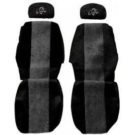 F-CORE Potahy na sedadla PS02, šedé