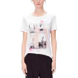 s.Oliver dámské tričko 38 bílá
