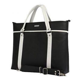 Dara bags Dámská černá designová taška Futurio Classic Middle no.1