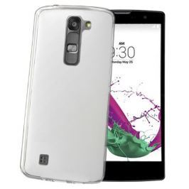 Celly Gelskin silikonový obal, LG G4c, čirá