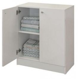 LUNA, skříňka nízká LU06, bílá