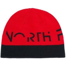 The North Face Youth Anders Beanie Tnf Black/Tnf Red S