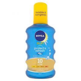 Nivea Neviditelný sprej na opalování SPF 10 Sun (Invisible Protection Transparent spray) 200 ml