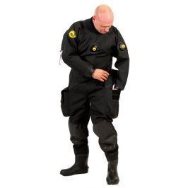 VIKING TRELLEBORG Oblek suchý VTS POLYESTER - zadní zip s latexovou kuklou, Viking, LGE