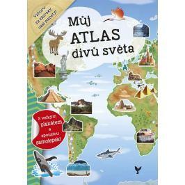 Dozo Galia Lami: Můj atlas divů světa + plakát a samolepky
