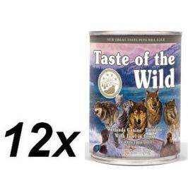 Taste of the Wild Wetlands konzerva 12 x 390g
