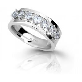Modesi Stříbrný prsten se zirkony M11084 (Obvod 52 mm) stříbro 925/1000