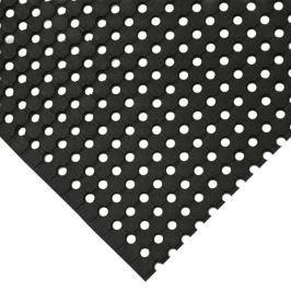 Černá gumová protiskluzová průmyslová rohož - 5 m x 90 cm x 1 cm