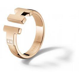 Tommy Hilfiger Luxusní bronzový prsten z oceli TH2700862 (Obvod 54 mm)