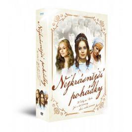 Nejkrásnější pohádky: Tři oříšky pro Popelku + Šíleně smutná princezna + Jak se budí princezny - DVD