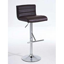 BHM Germany Barová židle Leonidas (SET 2 ks), hnědá
