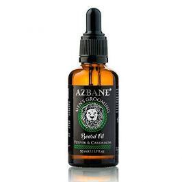 Azbane Pečující olej na vousy s arganovým olejem Vetiver a kardamon (Beard Oil) 30 ml