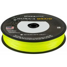 Spiderwire Splétaná Šňůra DURA4 150 m Yellow 0,10 mm, 9,1 kg