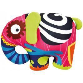 Bino Barevný slon 39x30cm