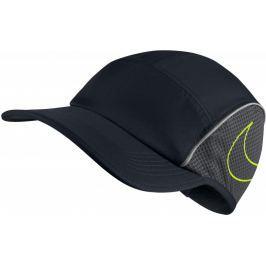 Nike U NK Arobill Aw84 Cap Run Black Anthracite Volt