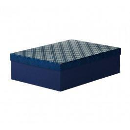 Dárková krabice Lukáš 3, tmavě modrá - 41x29x11,5cm