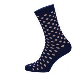 ROSENBULL Veselé puntíkované ponožky- béžové modré - 43 - 45