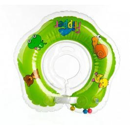 Teddies BABY Plavací nákrčník Flipper zelený