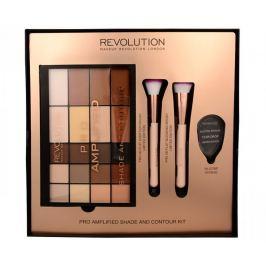 Makeup Revolution Dárková sada s paletkou na konturování Pro Amplified Shade And Contour