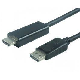 PremiumCord DisplayPort na HDMI kabel, M/M, 1 m