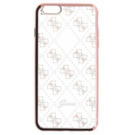 Guess GUHCP6TR4GRG 4G TPU pouzdro Rose Gold pro iPhone 6/6S