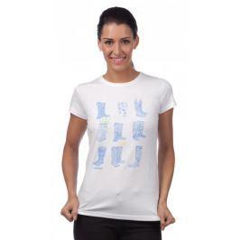 Barbour dámské tričko M bílá